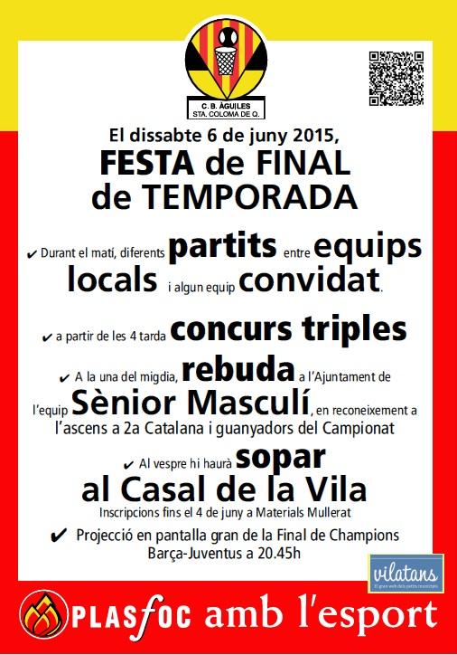 FESTA FINAL DE TEMPORADA
